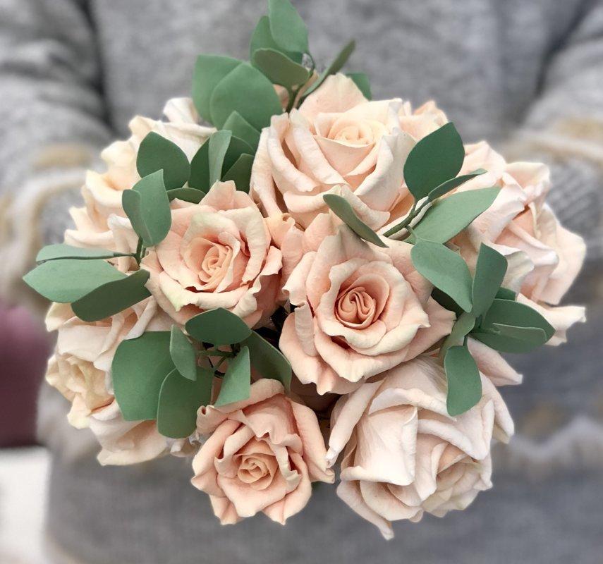 CLAYCRAFT™ by DECO® forma mazajām rožu ziedlapiņām