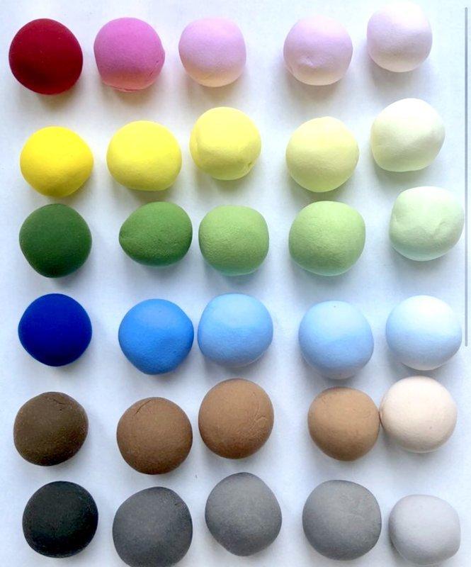 CLAYCRAFT™ by DECO® polimēra māls Soft Clay (balts)