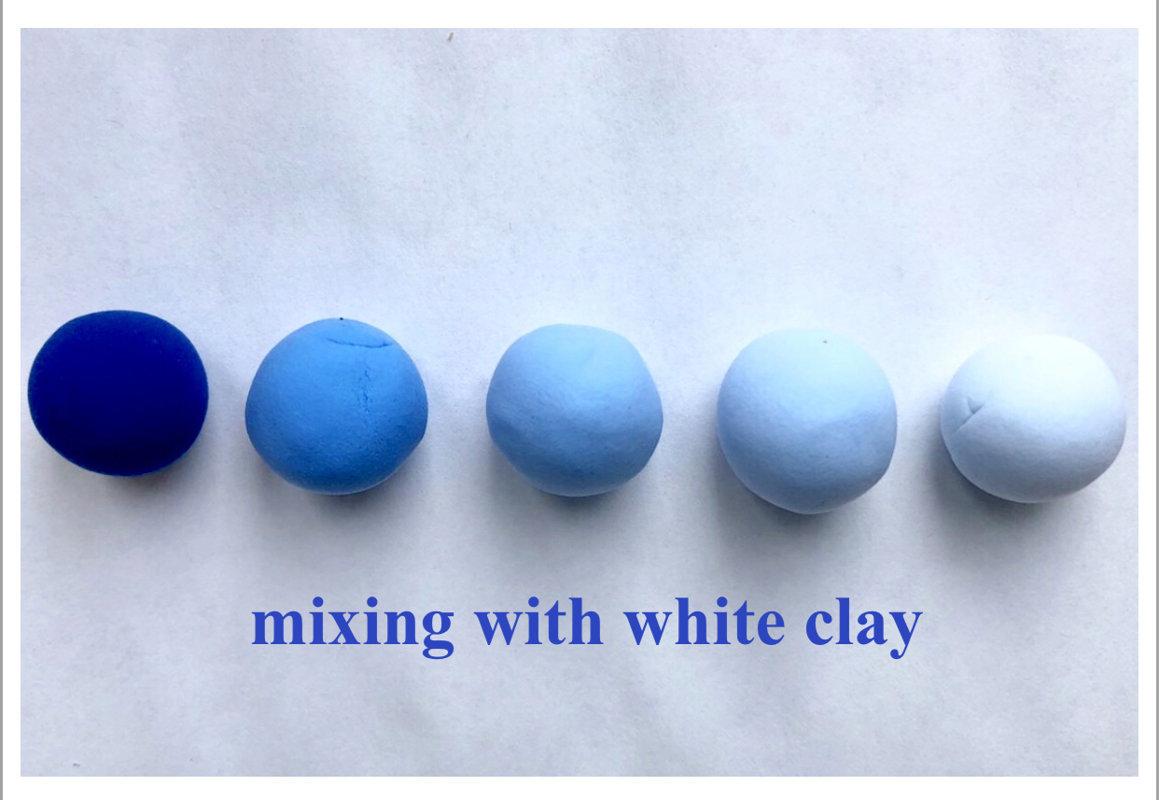CLAYCRAFT™ by DECO® polimēra māls (zils)