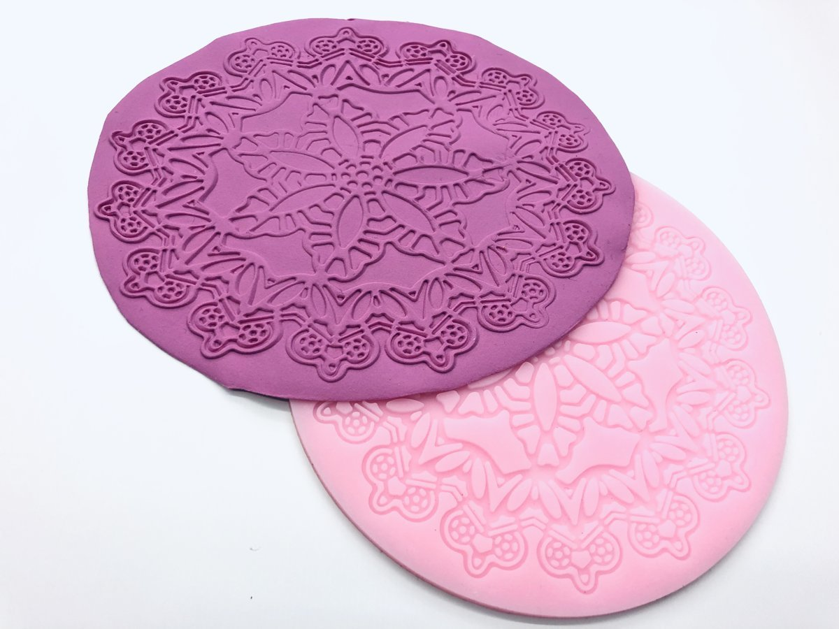 Tekstūras forma Mežģīnes #1