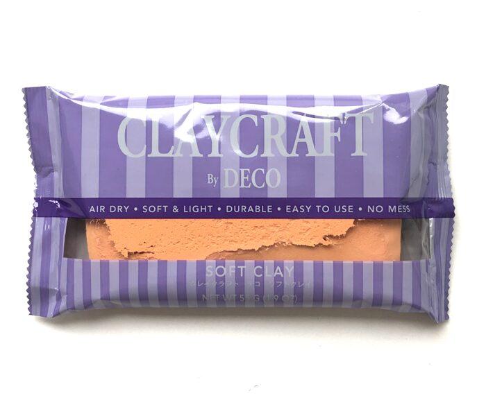 CLAYCRAFT™ by DECO® polimēra māls (persiku krāsa)