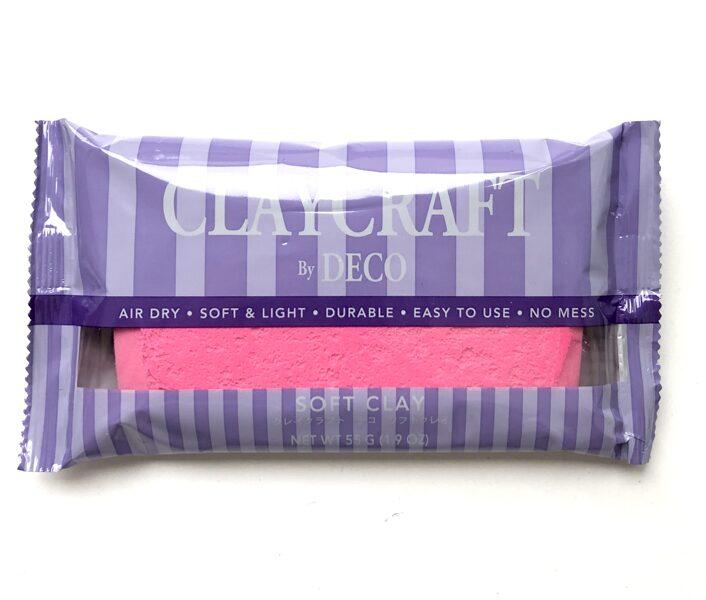 CLAYCRAFT™ by DECO® polimēra māls (rozā krāsa)