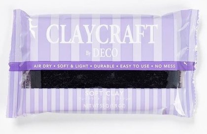 CLAYCRAFT™ by DECO® polimēra māls (melns)
