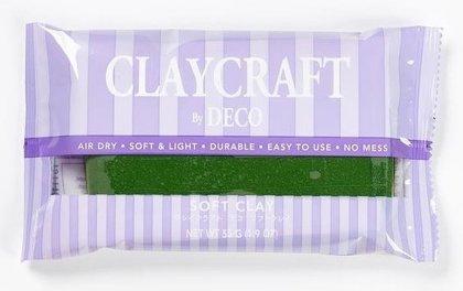CLAYCRAFT™ by DECO® polimēra māls (zaļš)